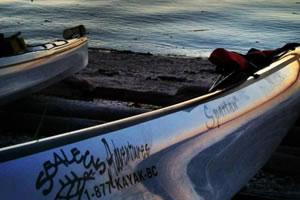 kayak vancouver island